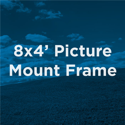 8x4 Commercial Picture Mount Frame